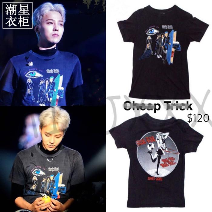 เสื้อยืด Cheap Trick Sty.G-Dragon -ระบุไซต์-