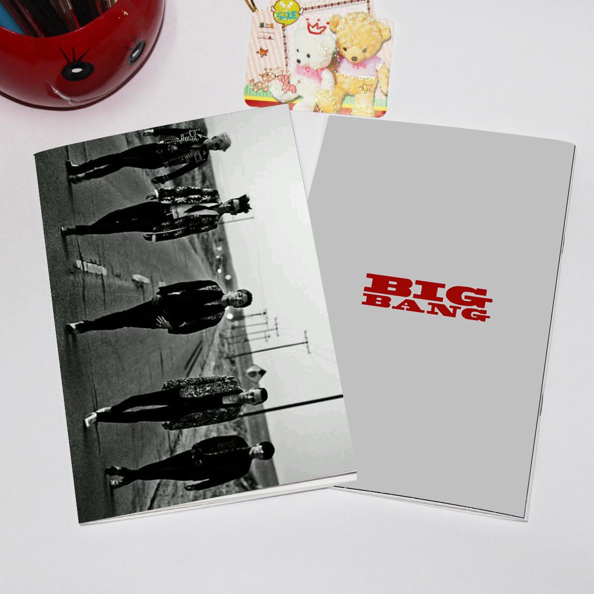 สมุด BIGBANG MADE