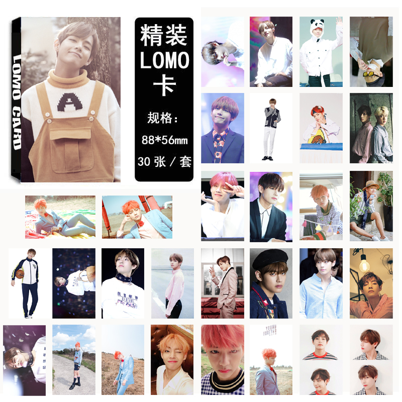 Lomo card set 02 BTS -V (30pc)