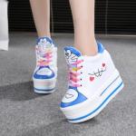 รองเท้าผ้าใบเสริมส้น ไซต์ 34-39