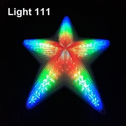 ไฟประดับ ไฟดาวใหญ่ สีรวม cl-026