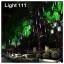 ไฟดาวตก LED 80 cm. สีเขียว (ไฟฝนดาวตก) thumbnail 6