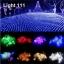 ไฟตาข่าย LED ขนาดใหญ่ 3x3 m. สีเขียว (กระพริบ) thumbnail 6