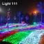 ไฟตาข่าย LED ขนาดใหญ่ 3x3 m. สีเขียว (กระพริบ) thumbnail 12