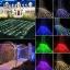 ไฟตาข่าย LED ขนาดใหญ่ 3x3 m. สีเขียว (กระพริบ) thumbnail 4