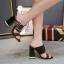 รองเท้าส้นหนาแบบสวมสีนู๊ด/ดำ ไซต์ 34-40 thumbnail 7