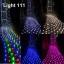 ไฟตาข่าย LED ขนาดใหญ่ 3x3 m. สีเขียว (กระพริบ) thumbnail 2