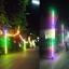 ไฟงานวัด LED สีฟ้า (ไฟนิ่งไม่กระพริบ), หลอด T8 สี thumbnail 8