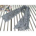 ผ้าพันคอ ลาย้สือดาว สีขาว-ดำ