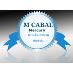 ขายเงิน M Cabal เซิฟ1 Mercury M ละ1บาทคับ มี2000 m