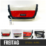 Freitag รุ่น F153 Jamie [ขาวมุข-เชอร์รี]