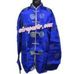 เสื้อสิงคโปร์ / จีน 2 - สีน้ำเงิน (size-L)