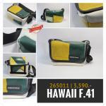 Freitag รุ่น F41 HAWAII FIVE-0 [ เขียวครึ่งเหลือง - หลังขาว ]
