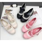 รองเท้าน่ารักๆสีชมพู/ครีม/ดำ ไซต์ 35-39