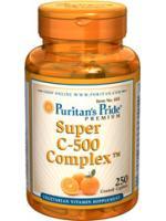 Puritan Super C 1000 complex 250เม็ด สูตรรวมคอมเพล็กของวิตามินซี 1ในวิตามินซีที่เราแนะนำว่ายอดเยี่ยม