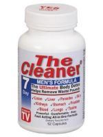 The Cleaner 7 day men's formula ดีท็อกทั้งร่างกายใน 7 วัน ล้างของเสียสะสมสำหรับผู้ชาย