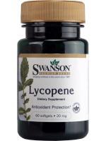 Swanson Lycopene 20 mg 60 แคปซูล ขาวอมชมพู ต้านอนุมูลอิสระแรงกว่ากลูต้าไธโอน 125 เท่า