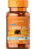 Puritan's Pride Lutein 20 mg with Zeaxanthin 60 softgels ลูทีนบำรุงสายตา ช่วยในการมองเห็น