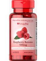 Raspberry Ketones 500mg. ราสเบอร์รี่คีโตนแบบเพียวๆ ช่วยเผาพลาญไขมัน 60 Capsules จาก Puritan's Pride