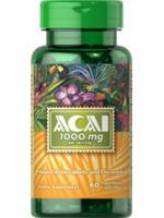 Puritan's Pride Acai 1000 mg 60 Softgels อาซาอิ ช่วยริ้วรอยและคงความอ่อนเยาว์
