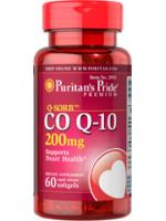 Puritan's Pride Q-SORB CO Q-10 200 mg. โคคิวเท็น 200mg. 60 ซอฟเจล ลดจุดด่างดำ สุดยอดอาหารเสริมแห่งการย้อนวัย