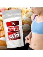 SOS Triple Shut Panic บล็อกแป้ง,คาร์โบไฮเดรต สำหรับผู้ที่ทานเก่ง ไม่ออกกำลังกาย