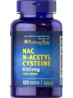 Puritan's Pride N-Acetyl Cysteine (NAC) 600 mg (USA) 120 แคปซูล ช่วยให้สร้างกลูต้าไธโอนจากภายในร่างกายได้เอง