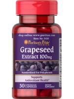 Grapeseed Extract 100mg. 50 capsules สารสกัดจากเมล็ดองุ่น ซูเปอร์สารต้านอนุมูลอิสระ