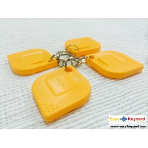 พวงกุญเเจคีย์การ์ด Keytag (เเบบใบไม้ ยี่ห้อ mango)