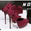 รองเท้าส้นสูง ไซต์ 34-39 สีดำ/แดง/เขียว/เทา thumbnail 10