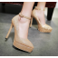 รองเท้าส้นสูงปลายแหลมเก็บทรงสีทอง/เงิน/ดำ/แดง ไซต์ 34-43 thumbnail 2