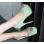 รองเท้าคัดชูส้นสูงเปิดหน้าสีเหลือง/ชมพู/ฟ้า/ครีม/เขียวอ่อน ไซต์ 34-43 thumbnail 8