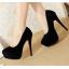 รองเท้าส้นสูง ไซต์ 34-40 สีดำ แดง ฟ้า thumbnail 2