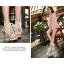 รองเท้าส้นสูงสีครีม/ดำ ไซต์ 34-38 thumbnail 4