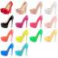 รองเท้าคัดชูส้นสูงทรงสวยเป๊ะ ไซต์ 34-42 สีดำ/แดง/ขาว/นู๊ด/เหลืองเข้ม/เหลืองอ่อน/เขียว/ชมพูเข้ม/ชมพูอ่อน/ชมพูอมม่วง/ส้ม/ฟ้าเข้ม/ฟ้าอ่อน thumbnail 1