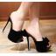 รองเท้าส้นสูงสีขาว/ดำ ไซต์ 34-39 thumbnail 2