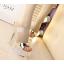 รองเท้าส้นสูงส้นแก้วคริสตัลแบบสวมสีทอง/ขาว ไซต์ 34-39 thumbnail 3