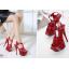 รองเท้าส้นสูง ไซต์ 35-40 สีดำ/แดง/ขาว thumbnail 5