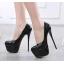 รองเท้าส้นสูง ไซต์ 35-40 สีดำ/แดง/ดำพื้นแดง/ดำพื้นเงิน thumbnail 3