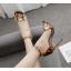 รองเท้าส้นสูงประดับดอกไม้สุดหรู ไซต์ 35-40 thumbnail 2