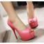 รองเท้าคัดชูส้นสูงเปิดหน้าสีเหลือง/ชมพู/ฟ้า/ครีม/เขียวอ่อน ไซต์ 34-43 thumbnail 4