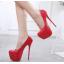 รองเท้าส้นสูง ไซต์ 35-40 สีดำ/แดง/ดำพื้นแดง/ดำพื้นเงิน thumbnail 5