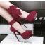 รองเท้าส้นสูง ไซต์ 34-39 สีดำ/แดง/เขียว/เทา thumbnail 2