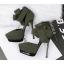 รองเท้าส้นสูง ไซต์ 34-39 สีดำ/แดง/เขียว/เทา thumbnail 12