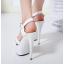 รองเท้าส้นสูง ไซต์ 35-40 สีดำ/แดง/ขาว thumbnail 7