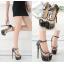 รองเท้าส้นสูงพลาสติกใสติดหมุด ไซต์ 35-40 thumbnail 1