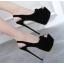 รองเท้าส้นสูงสีดำ ไซต์ 35-40 thumbnail 2
