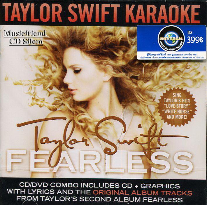 Taylor Swift Fearless [Karaoke, CD+DVD]