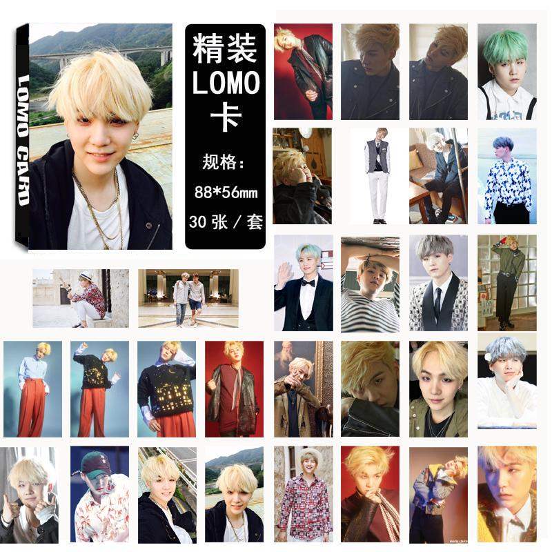 Lomo card set 02 BTS - SUGA (30pc)