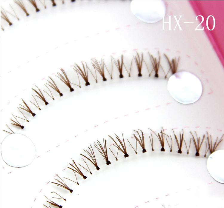 HX-20# ขนตาล่างเอ็นใส(ขายปลีก)